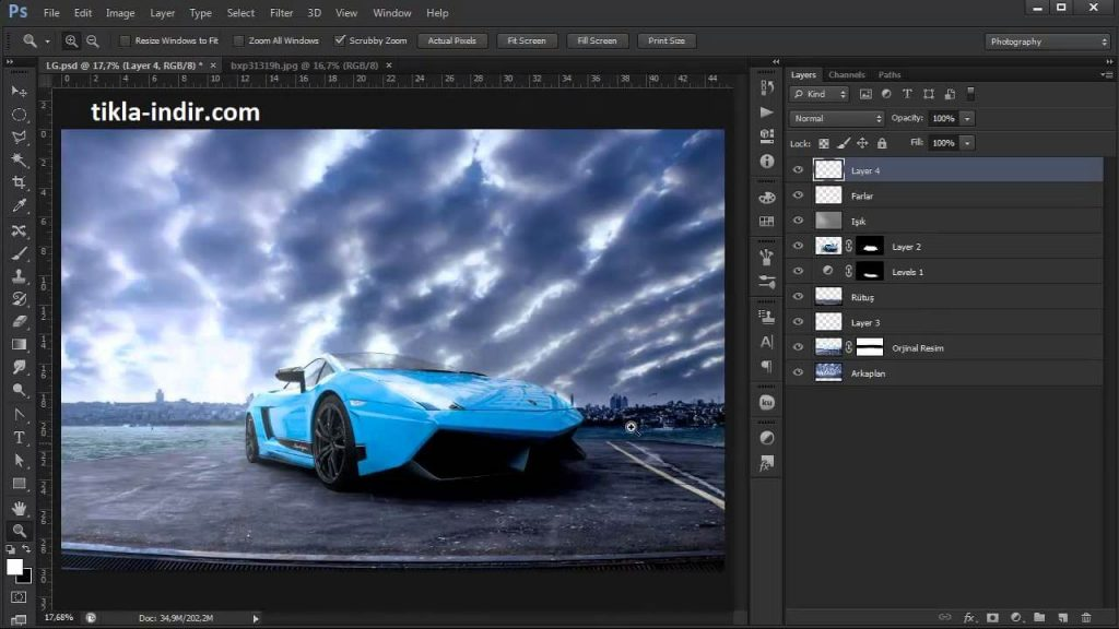 Adobe Photoshop Full İndir