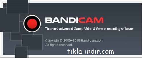 Bandicam Full Program İndir – v4.3.1.1490