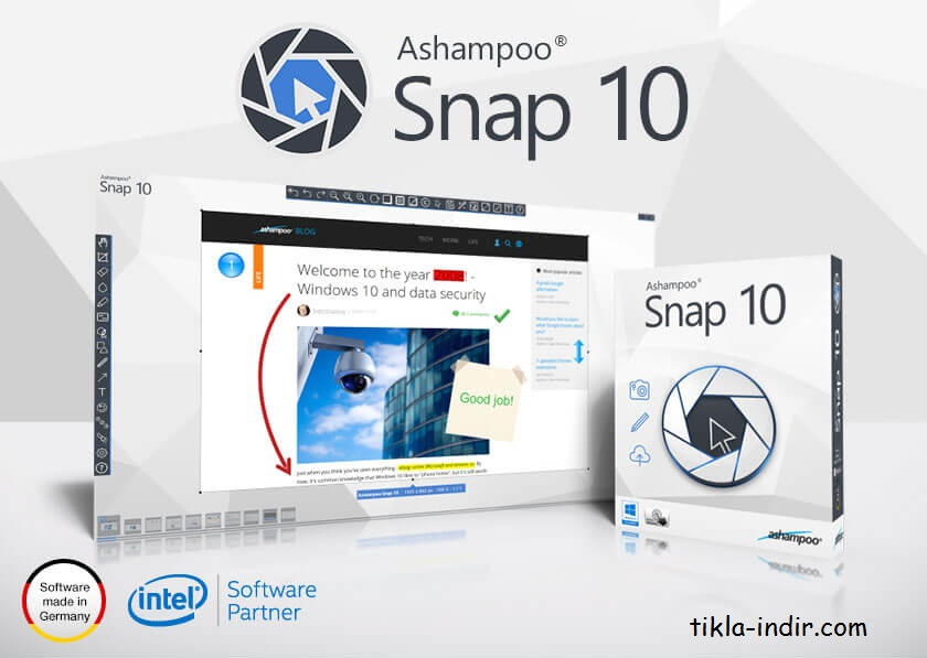 Photo of Ashampoo Snap v10.1.0 Full İndir