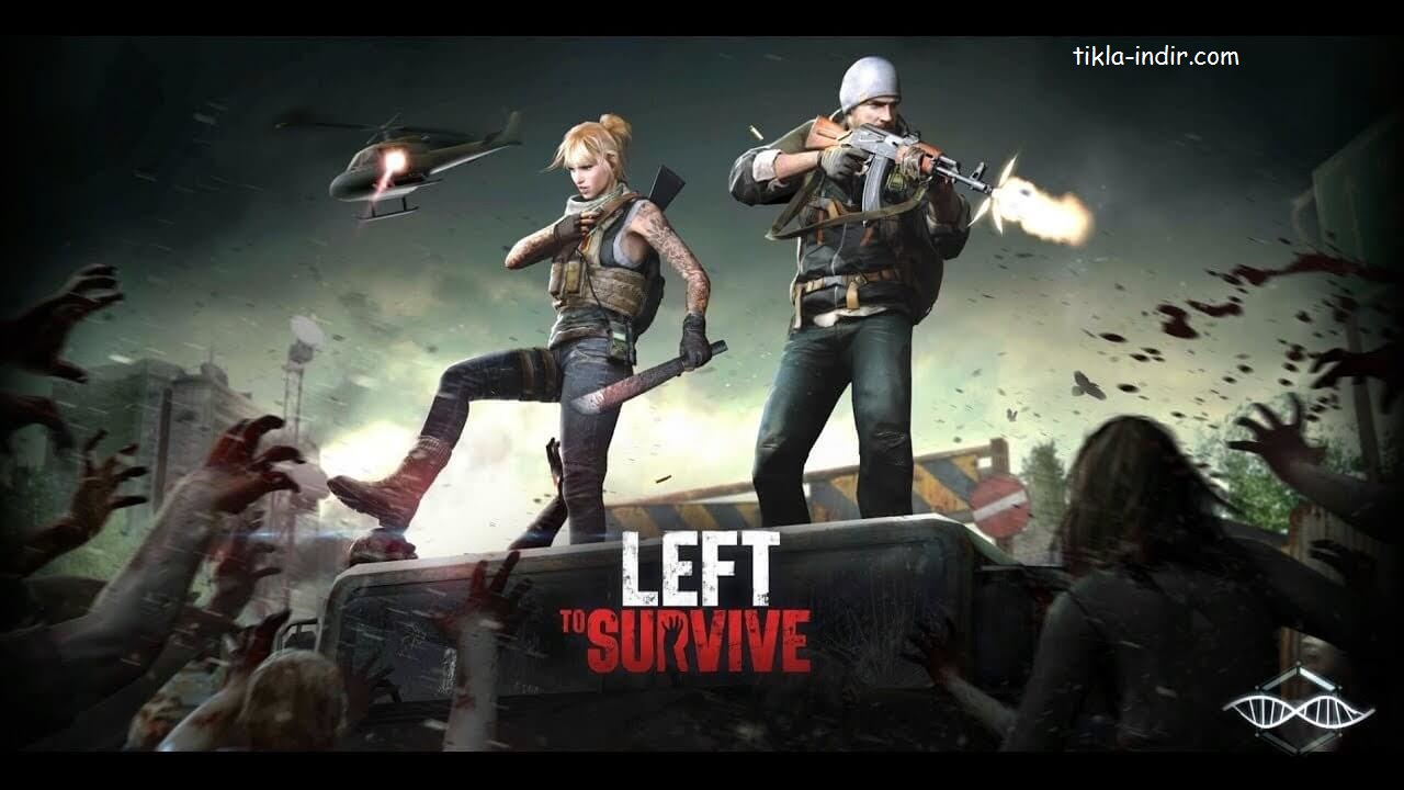 Left to Survive Full APK İndir – Mermi Hileli v3.1.0