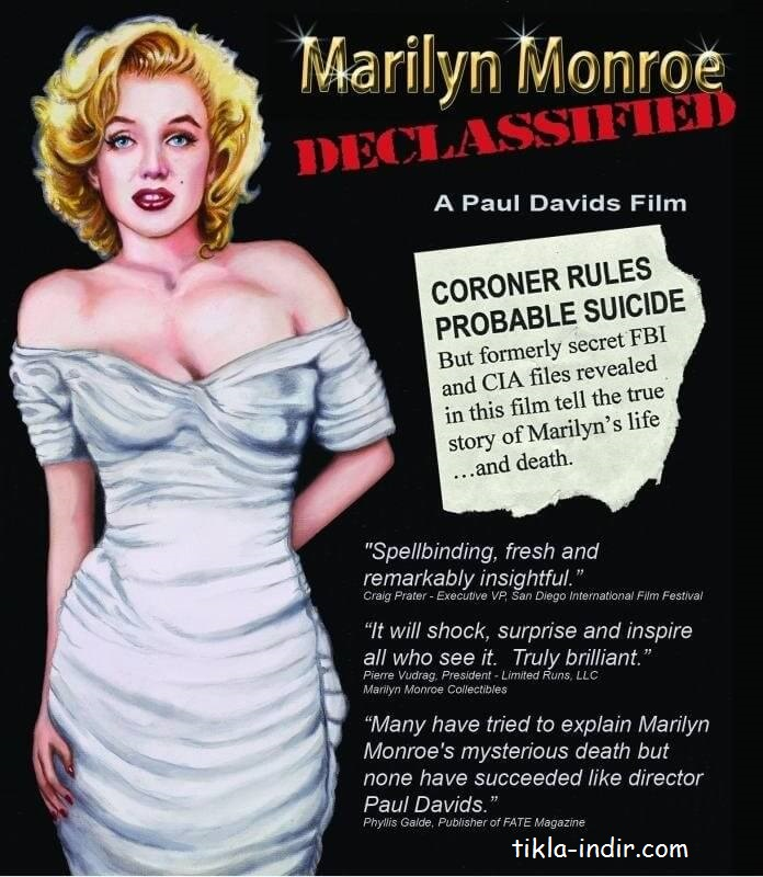 Marilyn Monroe Declassified Full Belgesel İndir