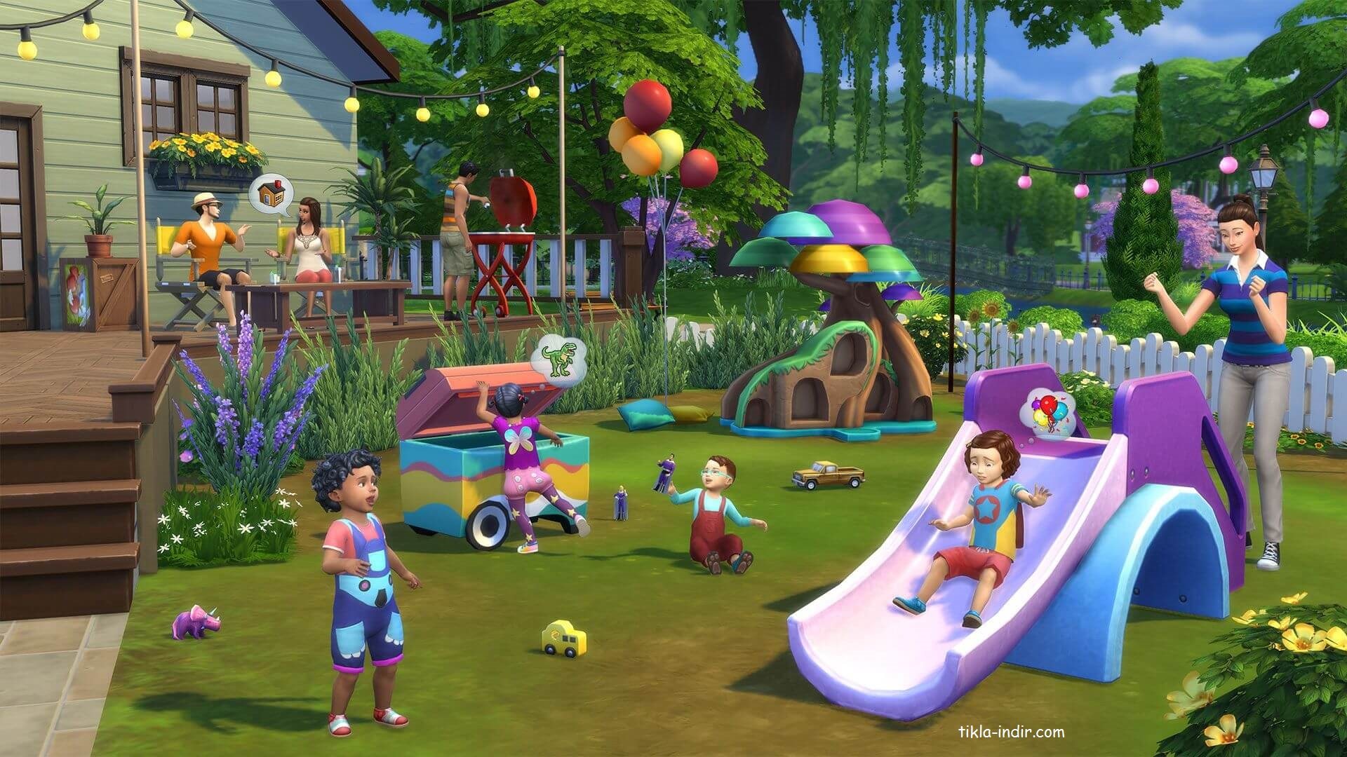 The Sims 4 Full PC + Torrent İndir v1.60.54.1520