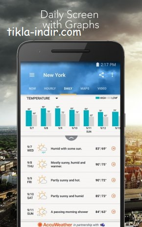 AccuWeather Platinum Full APK İndir v6.1.4