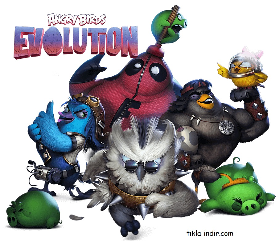Angry Birds Evolution Hileli APK İndir