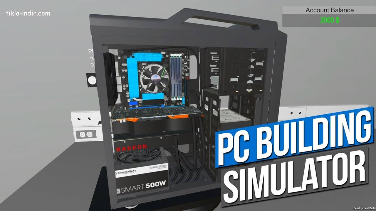 PC Building Simulatör v1.2 Full PC + Torrent İndir