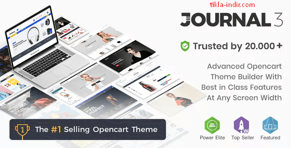 Photo of Opencart Journal Tema Full İndir