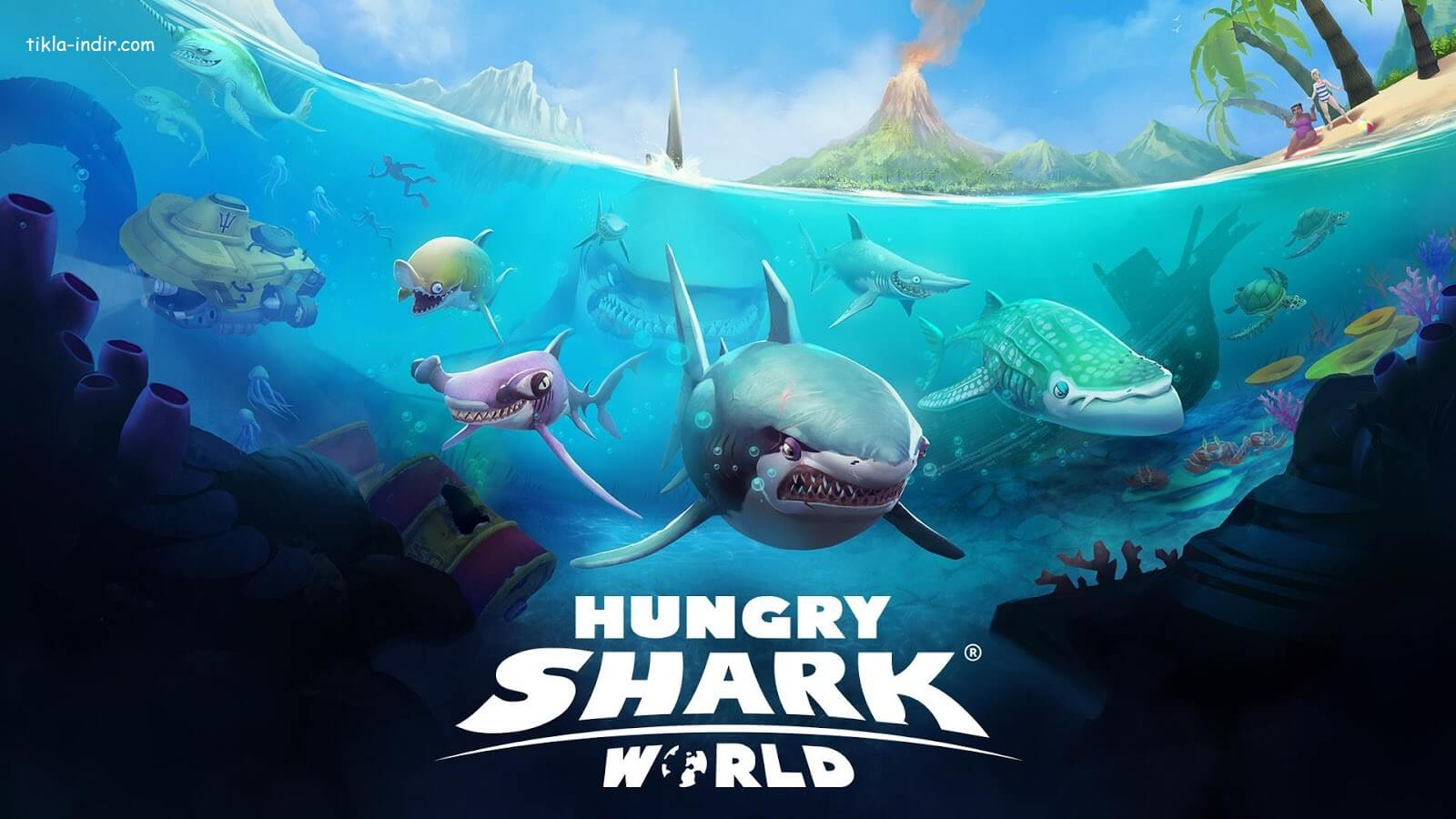Hungry Shark World Full APK İndir