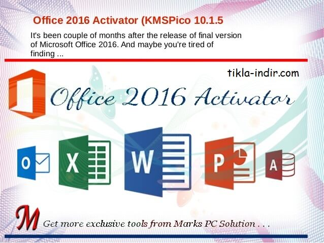 Photo of KMSpico Full İndir – Office 2016 Crack Yapma Programı