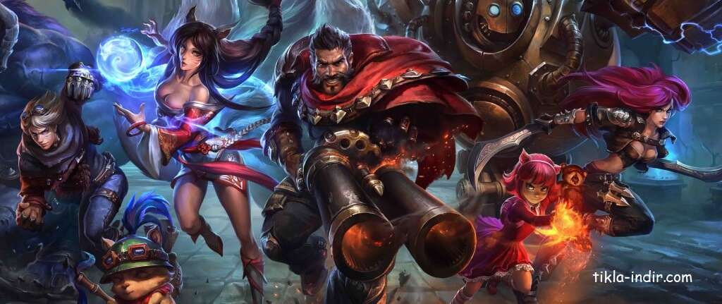 League of Legends Full İndir v7.24