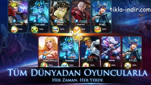 Mobile Legends Bang Bang Full APK İndir – Radar Hileli v1.3.88.4161