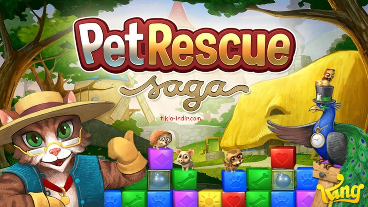 Photo of Pet Rescue Saga Full APK İndir – Para Hileli